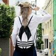adidas Originals GYMSACK TREFOIL(アディダス オリジナルス ジムサック トレフォイル) Black/White【ナップサック】16SS-I
