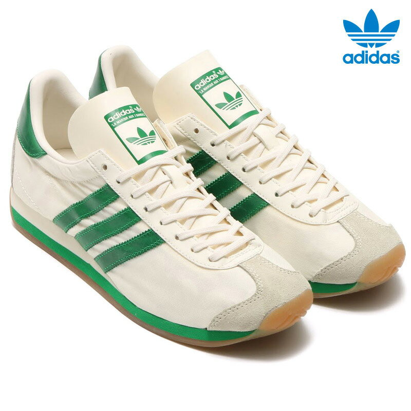 adidas Originals CNTRY OG (アディダス オリジナルス カントリー) Choke White/Green/Cream White【メンズ レディース】【スニーカー】16FW-I