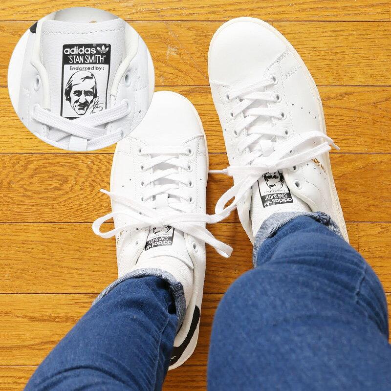 adidas Originals STAN SMITH(アディダス オリジナルス スタンスミス) Running White/Running White/Core Black【メンズ レディース スニーカー】16SS-I ★20・お取り寄せ商品★