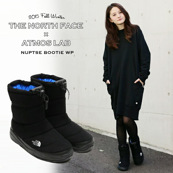 THE NORTH FACE×atmos NUPTSE BOOTIE WP A(ザ ノースフェイス × アトモス ヌプシブーティ WP A)BLACK15FW-S ●お取り寄せ商品・10●