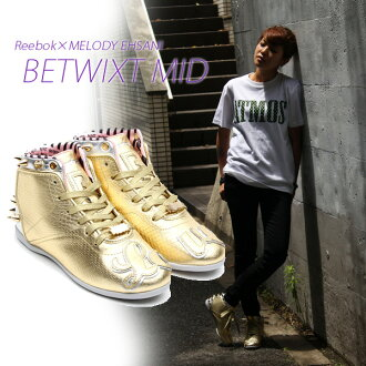 Reebok×melody EHSANI BETWIXT MID ME/BRASS/SILVER/POLISHED PINK/STEEL/BLK 13FW-S