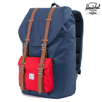 Herschel Supply LITTLE AMERICA NAVY/RED