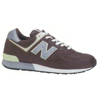 More than 5,250 Yen item target ☆ 7 days 12:59 ever! new balance M576 CH BROWN