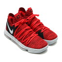 NIKE ZOOM KD10 EP(ナイキ ズーム KD10 EP)(UNIVERSITY RED/PURE PLATINUM-BLACK)【メンズ スニーカー】17FA-S
