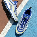 NIKE AIR MAX 97(ナイキ エア マックス 97)(WOLF GREY/TOUR YELLOW-GYM BLUE-WHITE)18SU-S