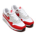 NIKE AIR MAX 90/1 (ナイキ エア マックス 90 1) (WHITE/UNIVERSITY RED-NEUTRAL GREY