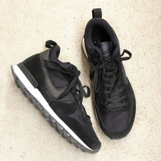 NIKE WMNS INTERNATIONALIST MID BLACK/BLACK-ANTHRACITE/SAIL