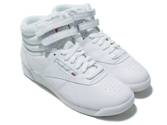REEBOK FREESTYLE HI WHITE/WHITE fs3gm
