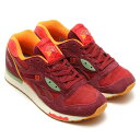 "Reebok ""Packer Shoes"" LX8500(リーボック パッカーシューズ LX8500)RAGUDOMARUN/MULBERRY RED/RED/GREEN15FW-S"