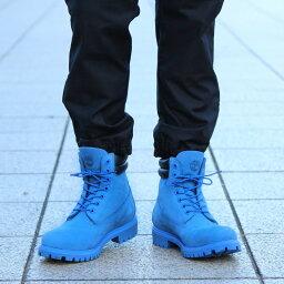 Timberland × atmos 6 inch Double Collar Boot(ティンバーランド × アトモス 6インチ ダブル カラー ブーツ)(BLUE NUBUCK)【メンズ レディース】16FW-S