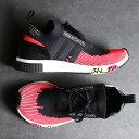 adidas Originals NMD_RACER PK(アディダスオリジナルス NMD_レーサー PK)CORE BLACK/CORE BLACK/SHOCK RED【メンズ レディース スニーカー】19SS-I
