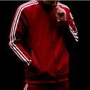 adidas Originals BECKENBAUER TRACK TOP (アディダス オリジナルス ベッケンバウアー トラック トップ) Rust Red【メンズ ジャージ】18SS-S