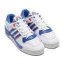 adidas RIVALRY LOW(アディダス ライバルリー ロー)FOOTWEAR WHITE/BLUE/ORANGE【メンズ レディース スニーカー】20SS-I