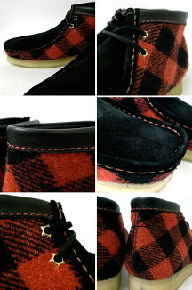 ClarksWALLABEEBLACK/RED