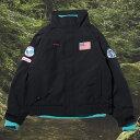 Columbia x atmos lab Bugaboo™ 1986TextInterchangeJacket(コロンビア x アトモス バガブー™ テクスト インターチェンジ ジャケット)Black【メンズ ジャケット】19FA-S at20-c