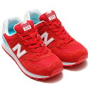 New Balance WL574 CNC(ニューバランス WL574 CNC)RED/WHITE【