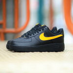 NIKE AIR FORCE 1 '07 (ナイキ エア フォース 1 07)BLACK/AMARILLO17HO-S