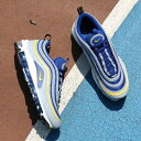NIKE AIR MAX 97 (ナイキ エア マックス 97) WOLF GREY/TOUR YELLOW-GYM BLUE-WHITE【
