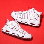 NIKE AIR MORE UPTEMPO '96 (ナイキ モア アップテンポ 96) WHITE/VARSITY RED-WHITE18SU-S