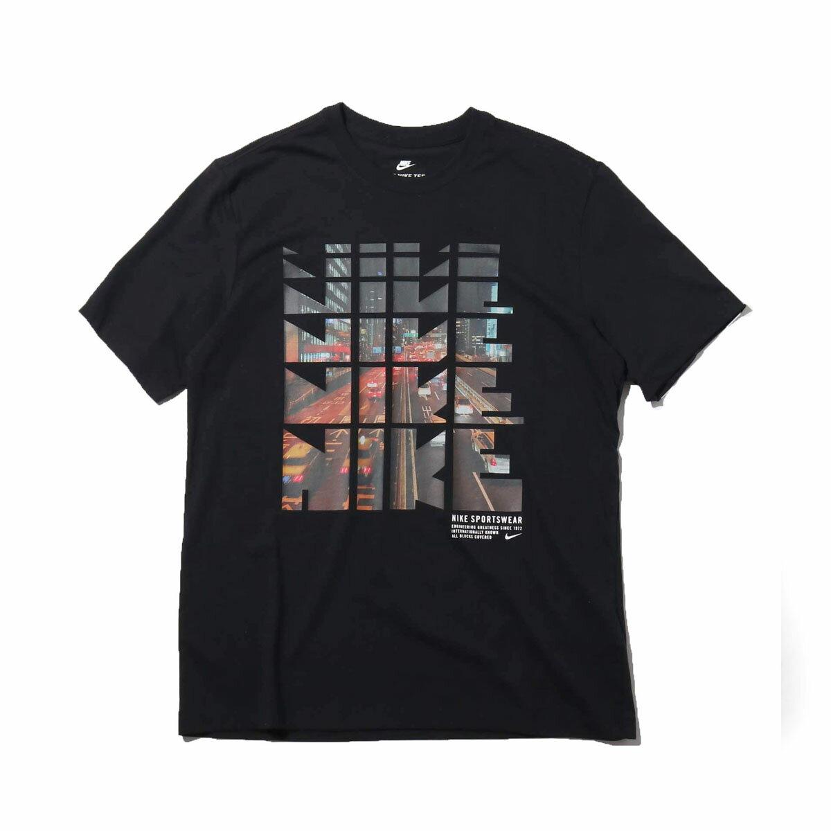 NIKE AS M NSW TEE TABLE HBR 29(ナイキ テーブル HBR Tシャツ 29)BLACK【メンズ Tシャツ】18FW-I