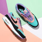 NIKE AIR MAX 1 ND (ナイキ エア マックス 1 ND)SPACE PURPLE/BLACK-BLEACHED CORAL19SP-I