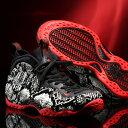 NIKE AIR FOAMPOSITE ONE (ナイキ エア フォームポジット 1)SAIL/BLACK-HABANERO RED-BLACK【メンズ スニーカー】19SU-I