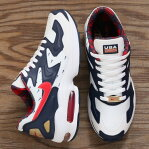 NIKE AIR MAX2 LIGHT(ナイキ エア マックス 2 ライト)WHITE/UNIVERSITY RED-MIDNIGHT NAVY19FA-S
