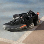 NIKE AIR JORDAN 12 RETRO LOW(ナイキ エア ジョーダン 12 レトロ ロー)BLACK/MAX ORANGE-ANTHRACITE-METALLIC SILVER17SP-S