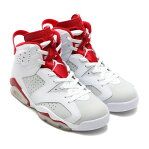 NIKE AIR JORDAN 6 RETRO (ナイキ エア ジョーダン 6 レトロ) WHITE/GYM RED-PURE PLATINUM17SU-S
