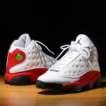 NIKE AIR JORDAN 13 RETRO(ナイキ エア ジョーダン 13 レトロ)WHITE/BLACK-TEAM RED17SP-S