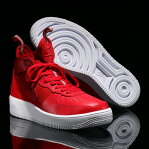 NIKE AIR FORCE 1 ULTRAFORCE MID (ナイキ エア フォース 1 ウルトラフォース ミッド) GYM RED/GYM RED-WHITE 17SP-S