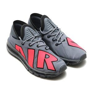 NIKE AIR MAX FLAIR (ナイキ エア マックス フレア) COOL GREY/SOLAR RED-BLACK-PURE PLATINUM【メンズ レディース スニーカー】17FA-S