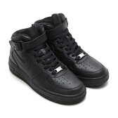 NIKE AIR FORCE 1 MID GS(ナイキ エア フォース 1 ミッド GS)BLACK/BLACKCRYOVR