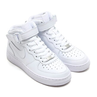 NIKEAIRFOECE1MIDGS�ڥʥ��������ե�����1�ߥå�GS��WHITE/WHITE��12FA-I�ۡ�2012�����2010