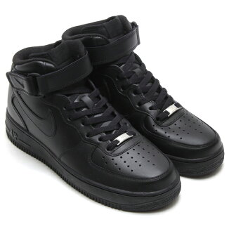 NIKEAIRFORCE1MID'07�ڥʥ��������ե�����1�ߥå�'07��BLACK/BLACK��12SS-I�ۡ�2012�����2010