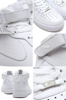 NIKEAIRFORCE1MID'07�ڥʥ��������ե�����1�ߥå�'07��WHITE/WHITE��12SS-I�ۡ�2012�����2010