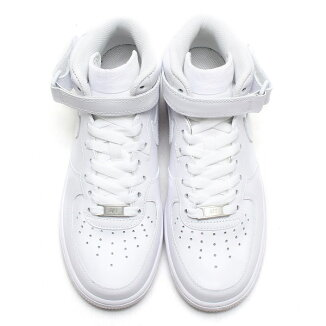 NIKEWMNSAIRFORCE1'07MID(�ʥ�������������ե�����1'07�ߥå�)WHITE/WHITE��15SS-S��