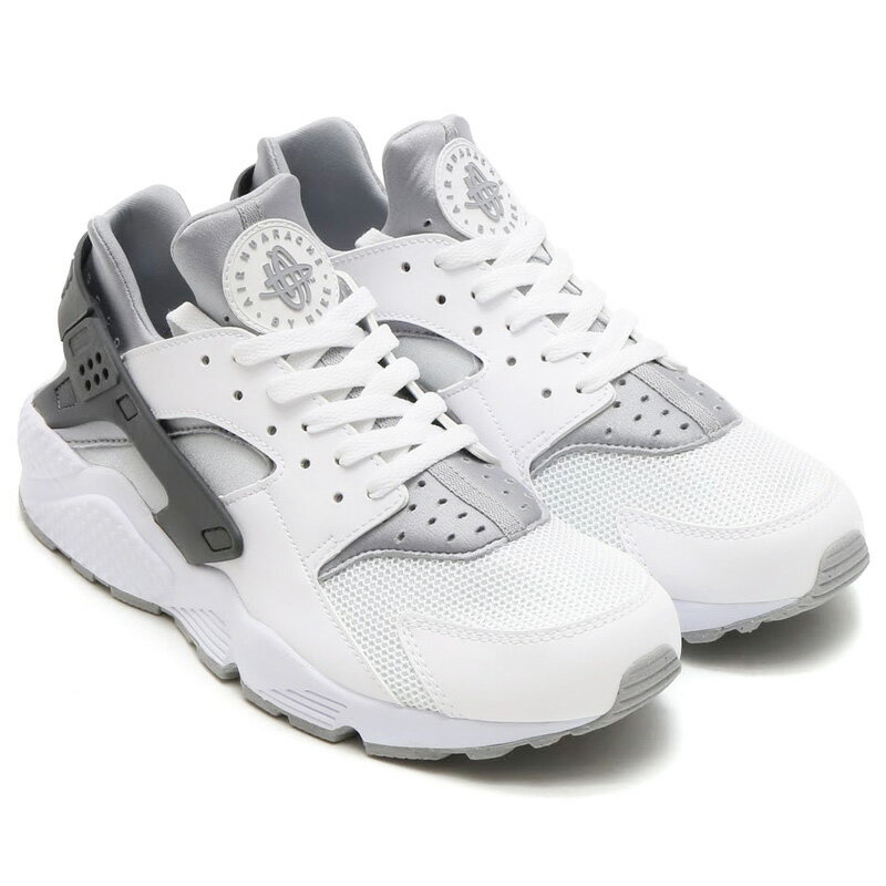 Air Huarache White Grey