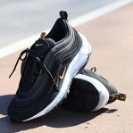 NIKE AIR MAX 97 QS(ナイキ エア マックス 97 QS)BLACK/METALLIC GOLD-WHITE20SP-S