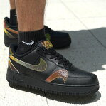 NIKE AIR FORCE 1 '07 LV8(ナイキ エア フォース 1 '07 LV8 2)BLACK/MULTI-COLOR-BLACK20FA-I