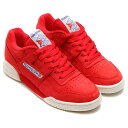 Reebok WORKOUT PLUS VINTAGE (リーボック ワークアウト プラス ヴィンテージ) PRIMAL RED/CHALK/CHALK/CLASSICWHITE【メンズ スニーカー】17SS-S