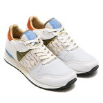 Reebok GS CL LTHR 6000(リーボック GS CL レザー 6000)WHITE/MOSS GREEN/FRENCH BLUE15SS-I