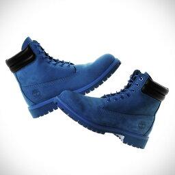 Timberland × atmos 6 inch Double Collar Boot (ティンバーランド × アトモス 6インチ ダブル カラー ブーツ)BLUE NUBUCK【メンズ ブーツ】16FW-S