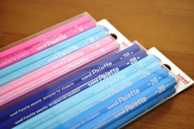 三菱鉛筆 かきかた鉛筆 ユニパレット(B/2B/4B/6B)02P03Dec16...:atn:10003543