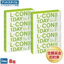【送料無料】【B1】エルコンワンデー 8箱(一日使い捨てコン...