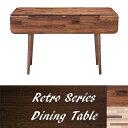 ダイニングテーブル 北欧食卓机 カフェテーブル テーブル 低め 無垢 カフェテーブル 4人用ウォールナット フレンチカントリー 折り畳み 幅120 高さ70 ミッドセンチュリー 木製テーブルアンティーク 机 2人用 伸長 木製机