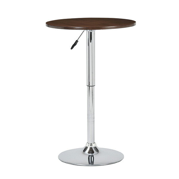 カウンターテーブル 円形 丸テーブル バーテーブル 丸 カフェ風 ティーテーブル 60 昇降式 ハイテーブル カフェテーブル ダイニングテーブルラウンドテーブル ブラウン ガス圧テーブル 北欧 円卓 おしゃれ ひとり暮らし モデルルーム 通販 ハイタイプ カウンターテーブル 円形 北欧 ハイテーブル ダイニングテーブル バーテーブル おしゃれ ラウンドテーブル カフェテーブル 丸テーブル おすすめ 送料無料
