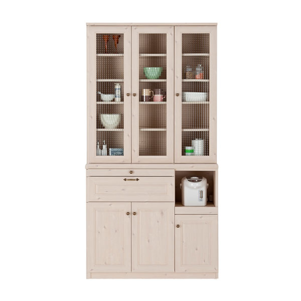 Atom style rakuten global market white tableware shelf for Kitchen units in zambia