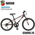 2017 GIOS ジオス GENOVA ジェノア 20 20インチ ブラウン