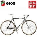 GIOS ロードバイク ジオス GIOS VINTAGE PISTA 「ジオス ヴィンテージ ピスタ」 ブラック 2018 ピスト 自転車